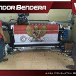jasa pembuatan bendera printing