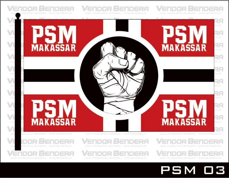 Desain Bendera Fans PSM Makassar