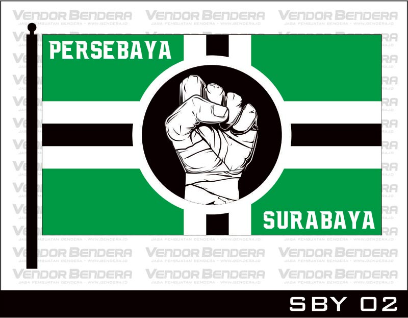 Desain Bendera Fans Persebaya Surabaya (5)