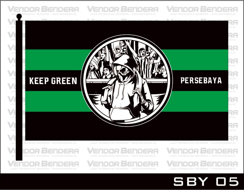 Desain Bendera Fans Persebaya Surabaya (7)