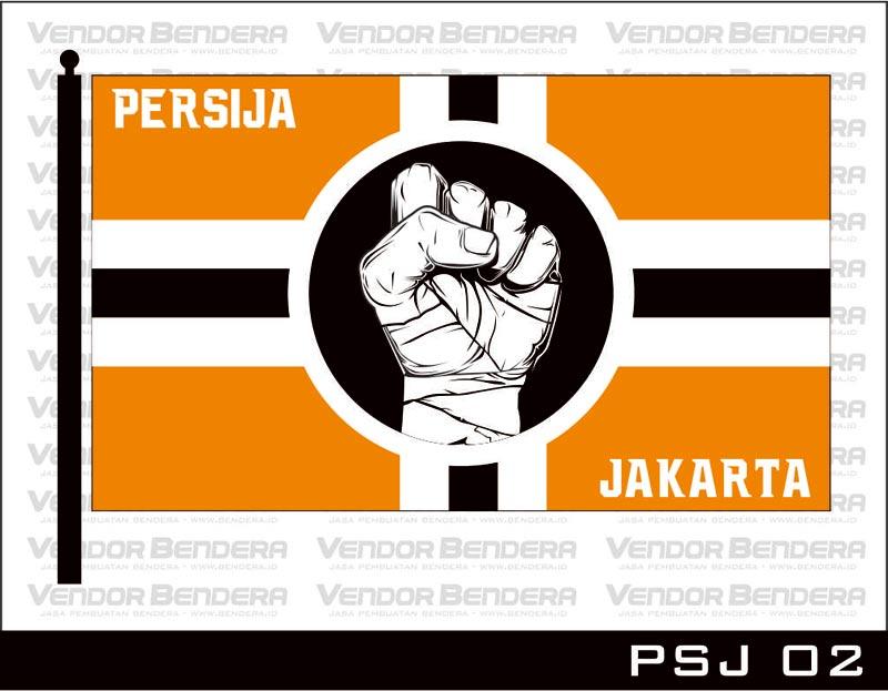 Desain Bendera Fans Persija Jakarta (2)