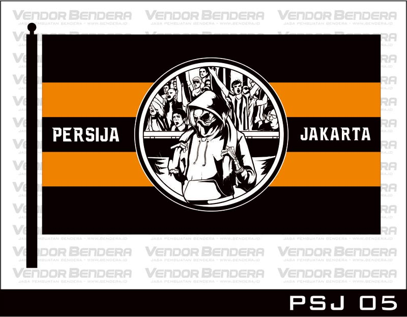 Desain Bendera Fans Persija Jakarta (5)