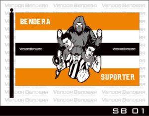 Jasa Pembuatan Bendera Suporter / Klub dengan Kualitas Printing