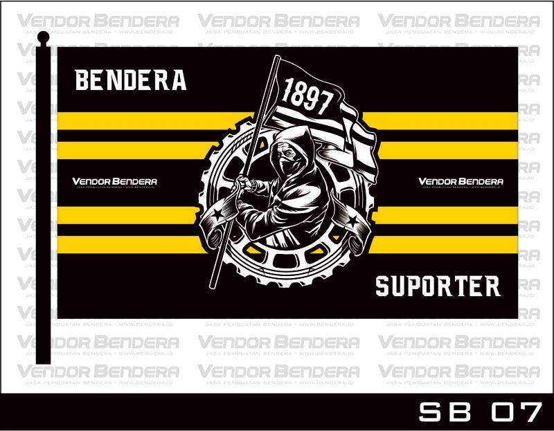Gambar Desain Bendera Ultras