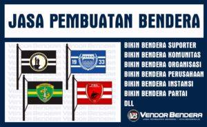 Jasa Bikin Bendera Fans Club Dengan Desain Custom