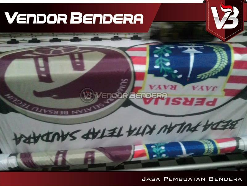 Jasa Bikin Bendera Fans Club Desain Custom