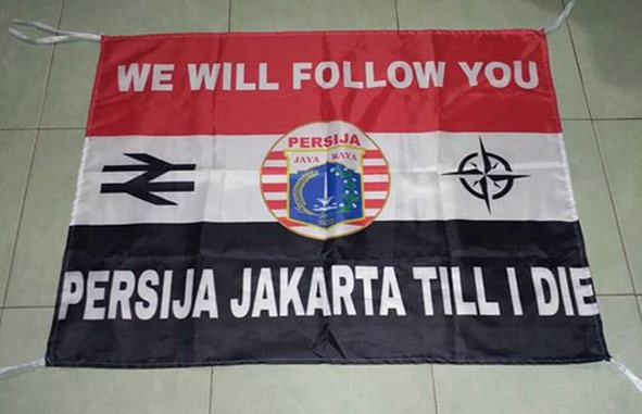 Jasa Bikin Bendera Fans Club MURAH