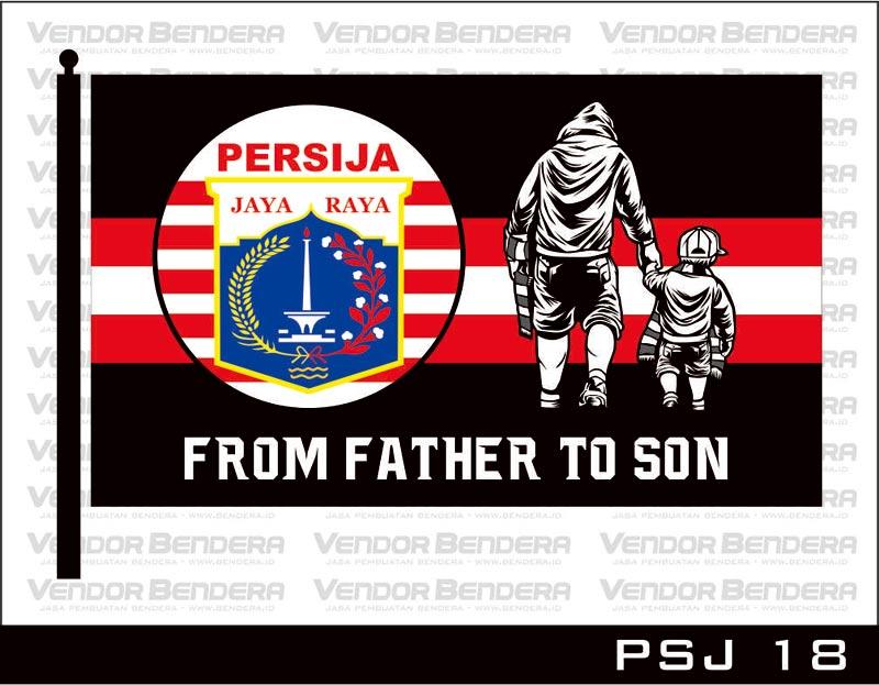 Jasa Bikin Bendera Gambar Logo persija