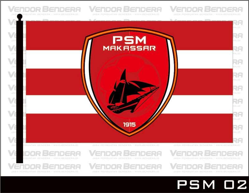 Jasa Bikin Bendera Gambar Logo psm makassar
