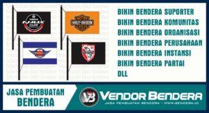Jasa Buat Bendera Komunitas Dengan Printing Bisa Pesan Satuan