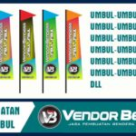 Jasa Cetak Bendera Umbul-Umbul Digital Printing Termurah