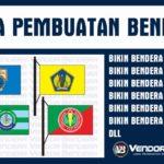 Jasa Pembuatan Bendera Instansi murah