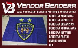 Jasa Pembuatan Bendera Tim Futsal Bisa Satuan ataupun Borongan