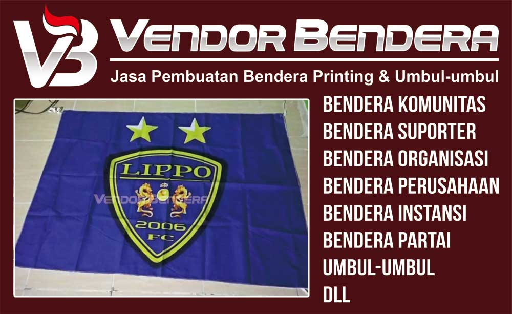 Jasa Pembuatan Bendera Tim Futsal
