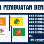 Konveksi Bendera Online dan Offline Terpercaya