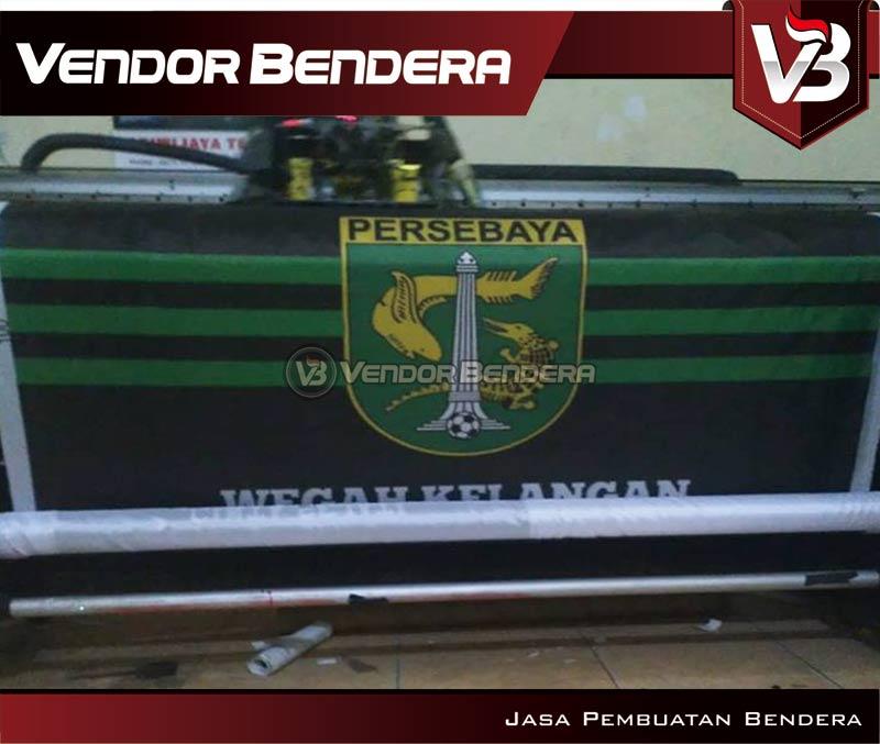 Pembuatan Bendera Suporter Persebaya Surabaya