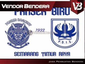 Pembuatan / Bikin Bendera Fans Dari PSIS Semarang