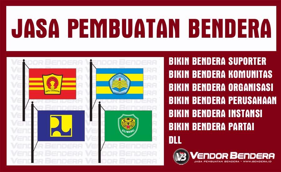 Pesan Bendera Custom Berbasis Digital Printing