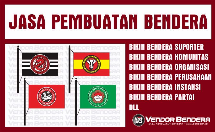 Print Bendera Satuan untuk Berbagai Kebutuhan