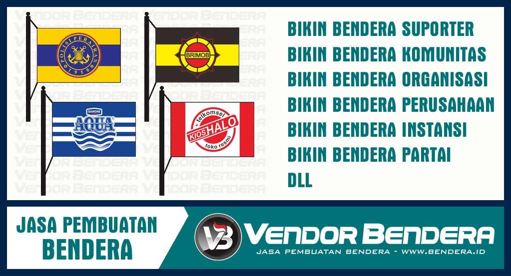 Tempat Pembuatan Bendera perusahaan dan organisasi