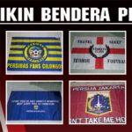 Tempat Sablon Bendera Satuan printing