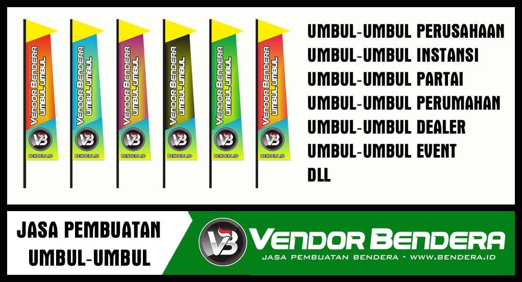 jasa pembuatan bendera umbul umbul online