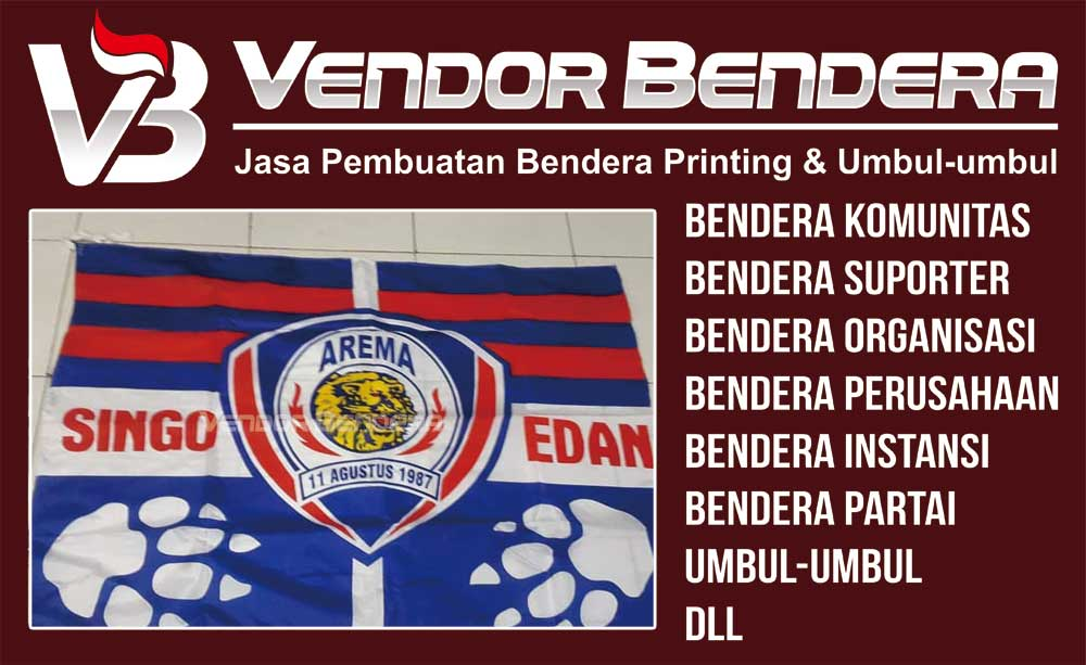 jual Bendera Digital Printing