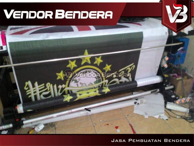pembuatan bendera ORGANISASI INDONESIA