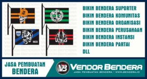 Buat Bendera Desain Sendiri dengan Teknik Digital Printing