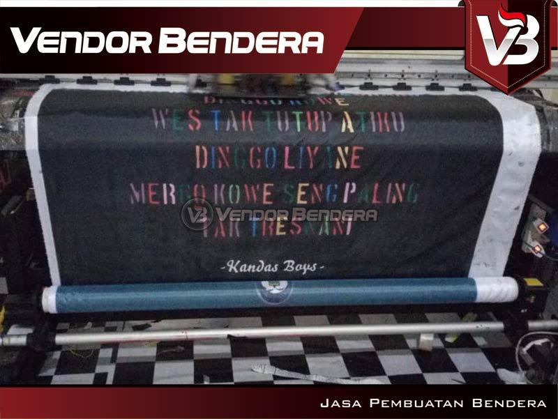 Jasa Bendera Digital Printing Desain Custom