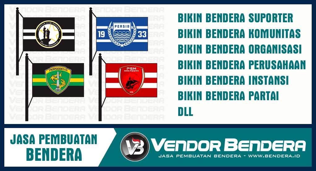 Jasa Pembuatan Bendera dan Bikin Umbul-Umbul di Surabaya