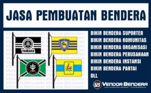 Jasa Sablon Bendera Murah Dan Terbaik