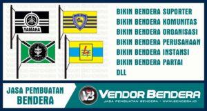 Sablon Bendera Online Bisa Satuan dan Banyak Penawaran Harga Termurah