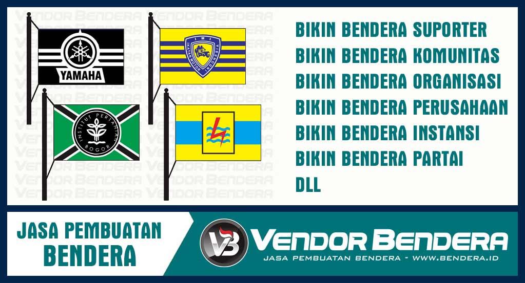 Sablon Bendera Online termurah
