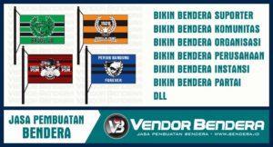 Tempat Buat Bendera Custom Murah Didukung dengan Teknik Printing
