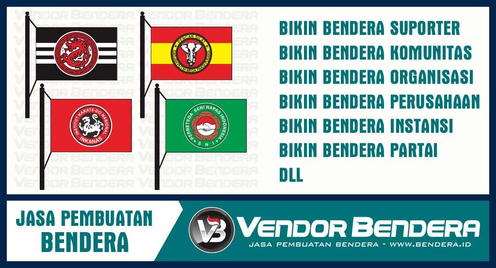 Vendor Pembuatan Bendera dan Umbul-umbul di Gresik